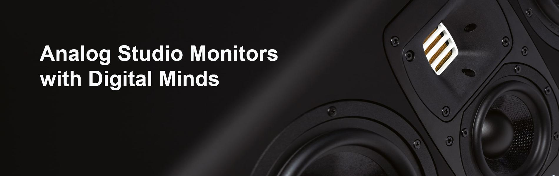Студийные мониторы с цифровым входом в MusicaLab.pro