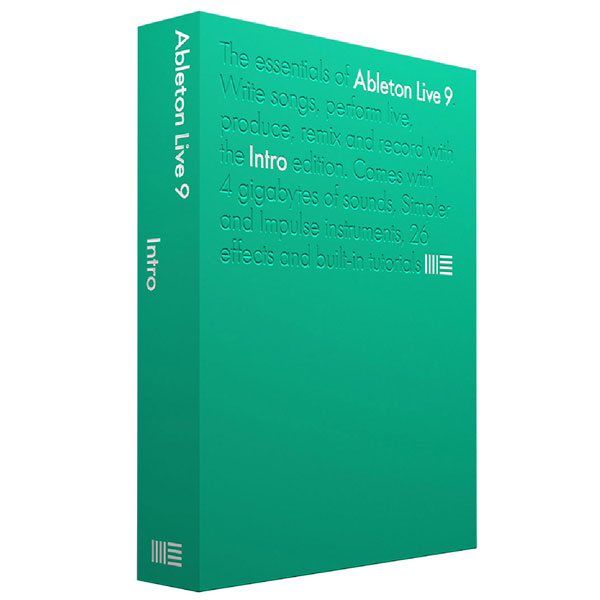 Ableton Live 9.5 Intro