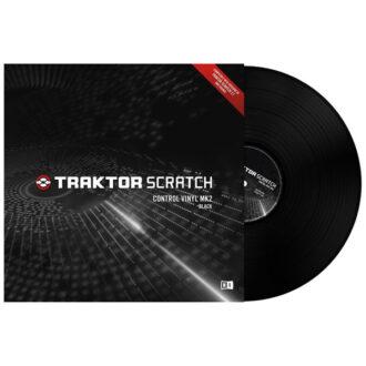 Native Instruments Traktor Scratch Pro Control Vinyl Black Mk2
