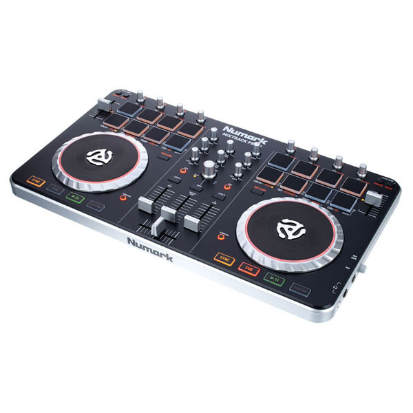 Numark mixtrack dj software controller sound card