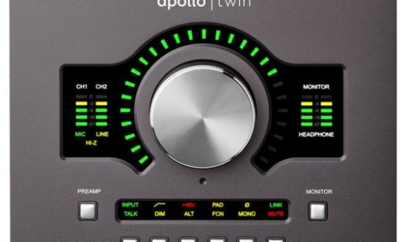 Audio Apollo Twin Mkii Quad2