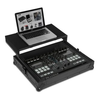 UDG Ultimate Flight Case Multi Format XL Black Plus (Laptop Shelf)