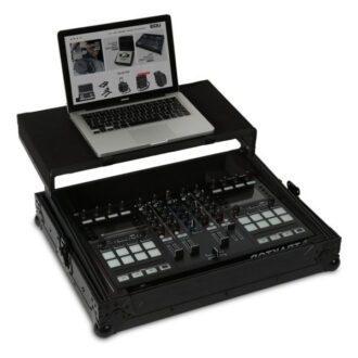 UDG Ultimate Flight Case NI Traktor Kontrol S5/S4 Black Plus (Laptop Shelf)