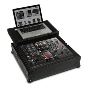 UDG Ultimate Flight Case Pioneer DJM-2000/NXS Black Plus (Laptop Shelf)