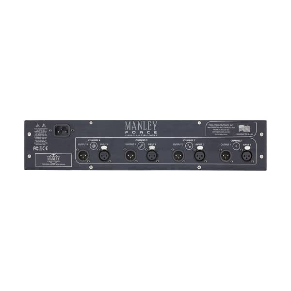 Manley Force Four Channel Mic Preamp_02