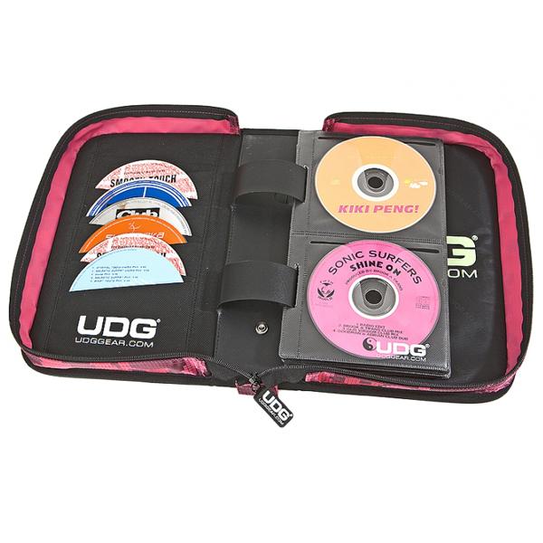 UDG Ultimate CD Wallet 100 Camo Pink_3