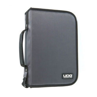 UDG Ultimate CD Wallet 100 Steel GreyOrange inside_1