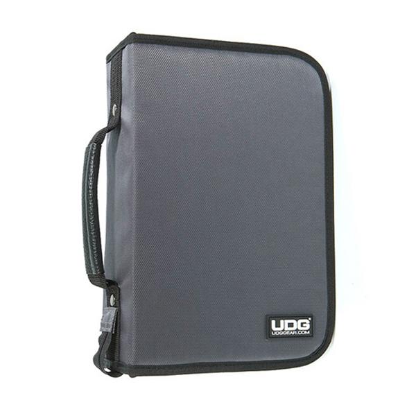 UDG Ultimate CD Wallet 100 Steel GreyOrange inside_1