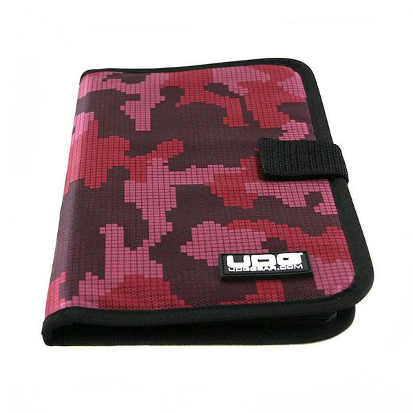 UDG Ultimate CD Wallet 24 Digital Camo Pink_2