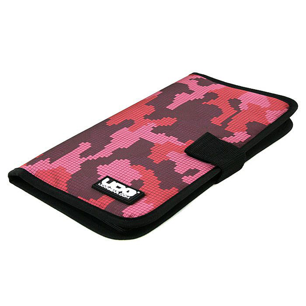 UDG Ultimate CD Wallet 24 Digital Camo Pink_4