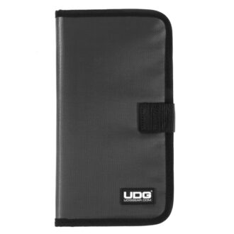 UDG Ultimate CD Wallet 24 Steel GreyOrange inside_1