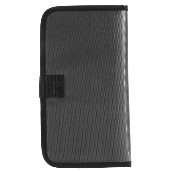 UDG Ultimate CD Wallet 24 Steel GreyOrange inside_2