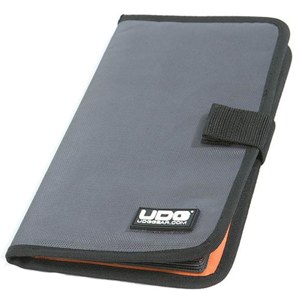 UDG Ultimate CD Wallet 24 Steel GreyOrange inside_3