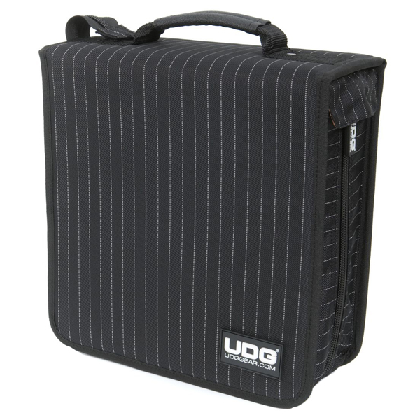 UDG Ultimate CD Wallet 280 BlackGrey Stripe_2