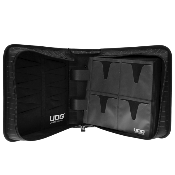 UDG Ultimate CD Wallet 280 BlackGrey Stripe_4
