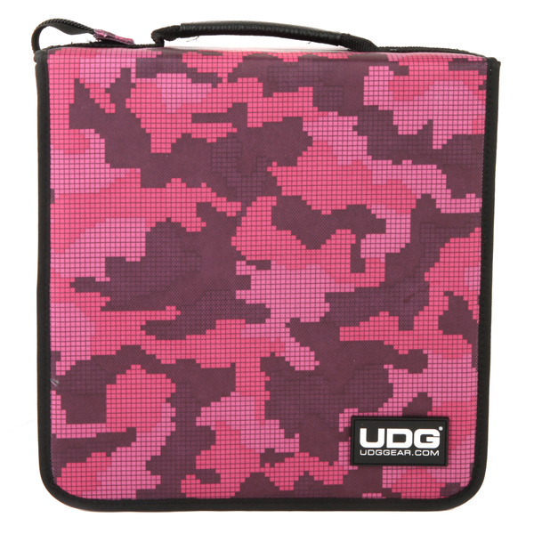 UDG Ultimate CD Wallet 280 Digital Camo Pink_2
