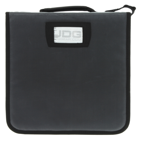 UDG Ultimate CD Wallet 280 Steel GreyOrange inside_2