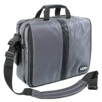 UDG Ultimate CourierBag DeLuxe 17 Steel Grey, Orange inside_1