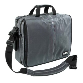 UDG Ultimate CourierBag Steel Grey, Orange inside_1