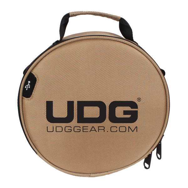 UDG Ultimate DIGI Headphone Bag Gold_1