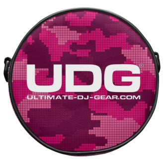 UDG Ultimate Headphone Bag Digital Camo Pink_1