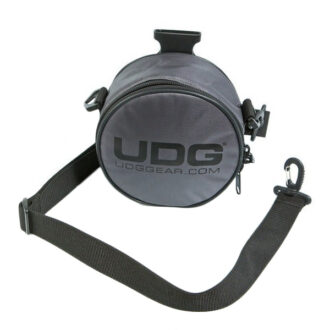 UDG Ultimate Headphone Bag Steel GreyOrange inside_1
